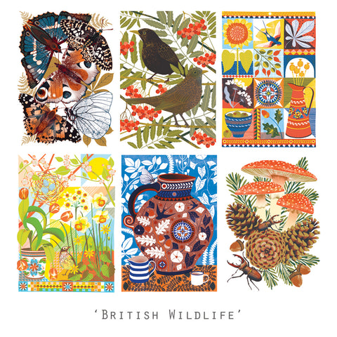 British Wildlife - Postcard Pack