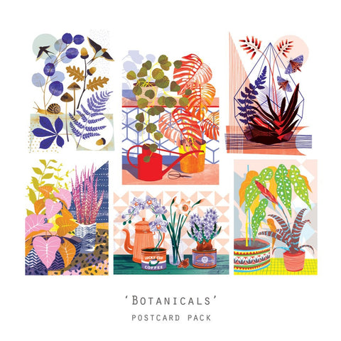 Botanicals - Postcard Pack