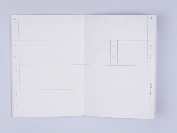 Brush Check - Pocket Weekly Planner A6