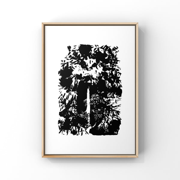 Monster Tree - Screen Print 56 x 76cm