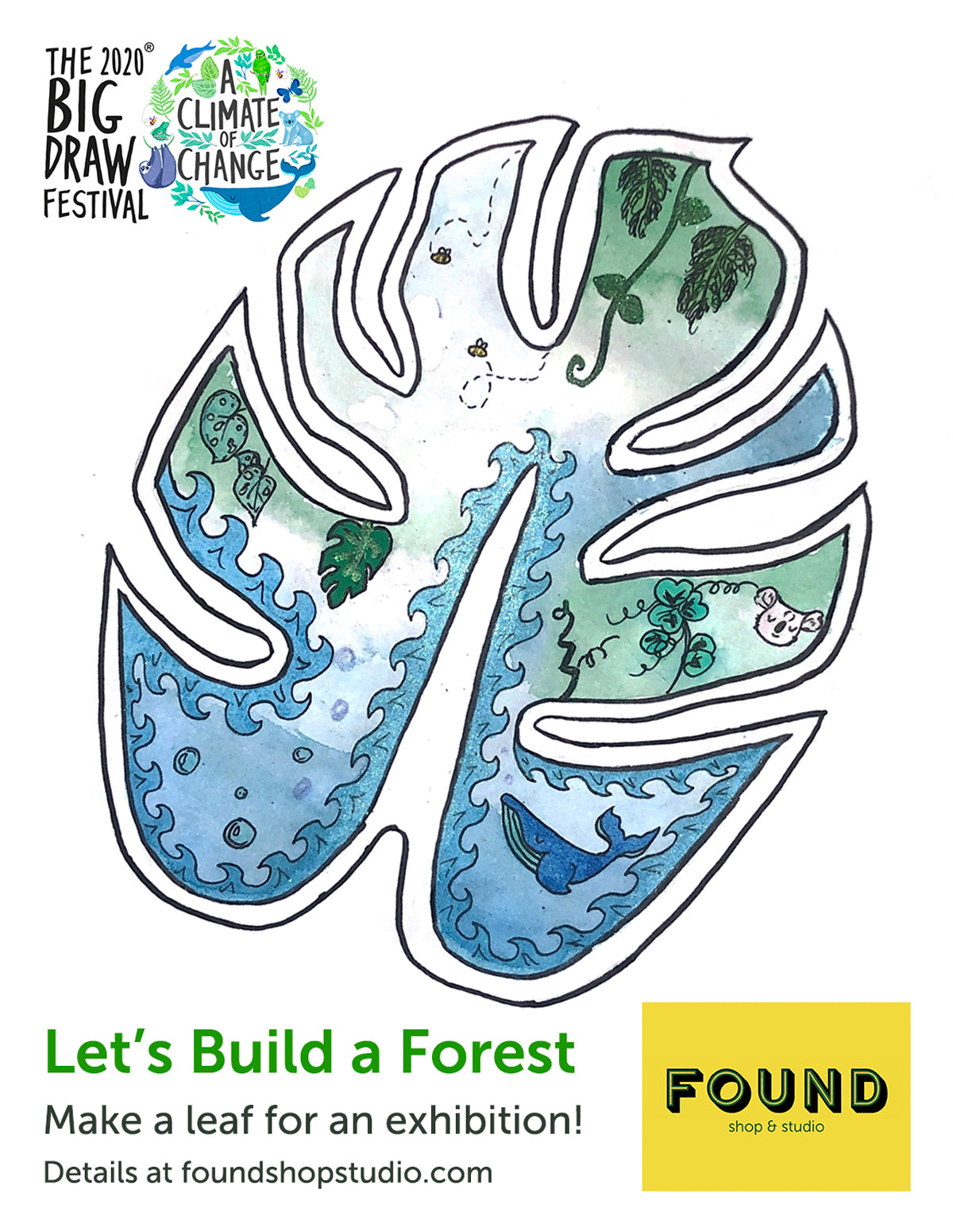 The Big Draw: Let's Build a Forest