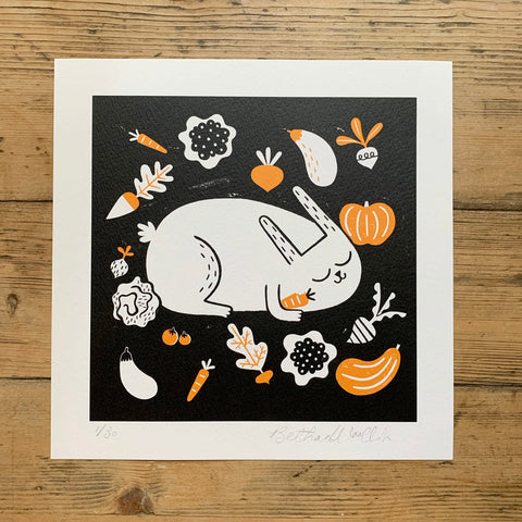 The Vegetable Thief - Print