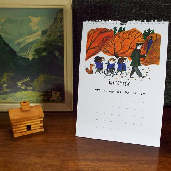 2021 Calendar illustrated by Dick Vincent