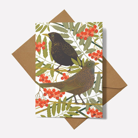 Blackbirds - Card