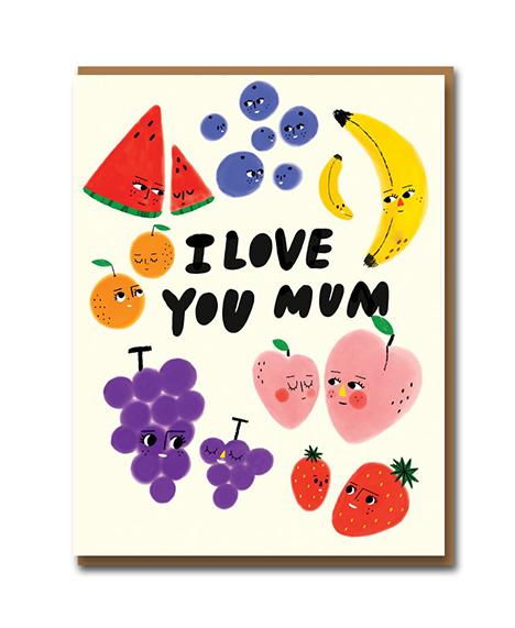 Fruit Family - Mother's Day Card