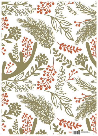 Fauna - Christmas Wrapping Paper