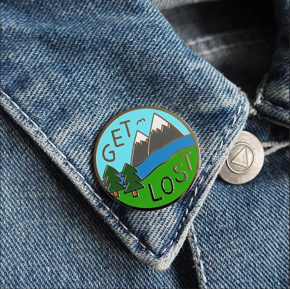 Get Lost - Pin