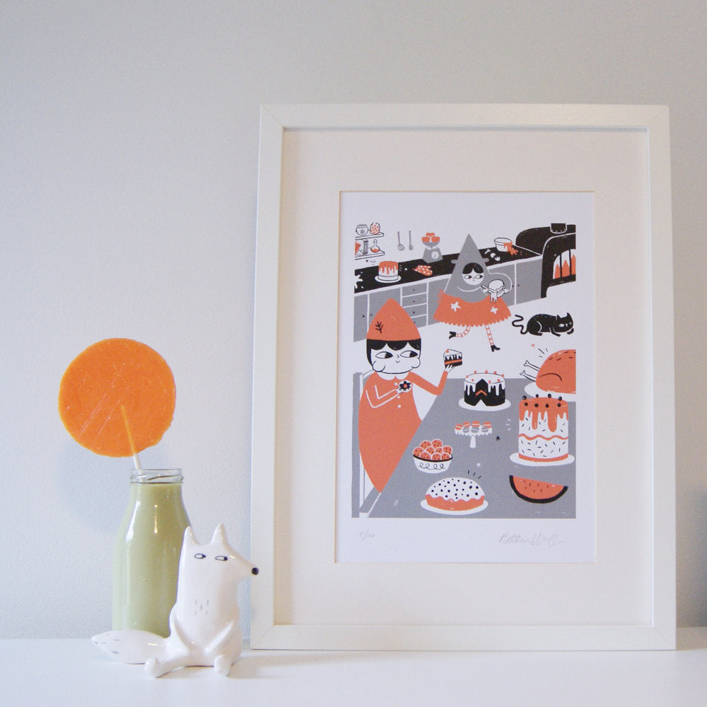 Hansel and Gretel - A4 Print