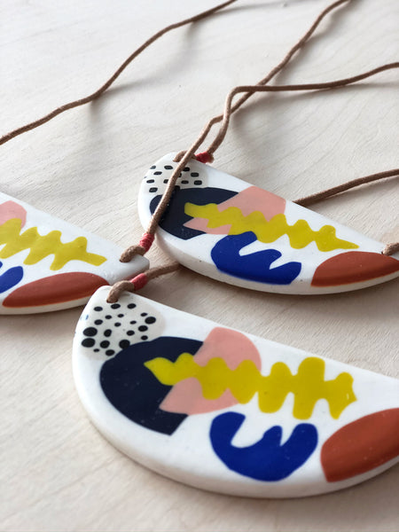 Nature Shapes / Matisse Bib Necklace