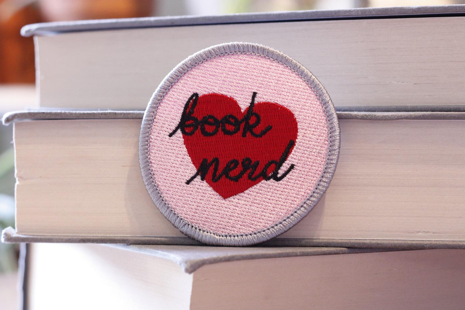 Book Nerd - Patch