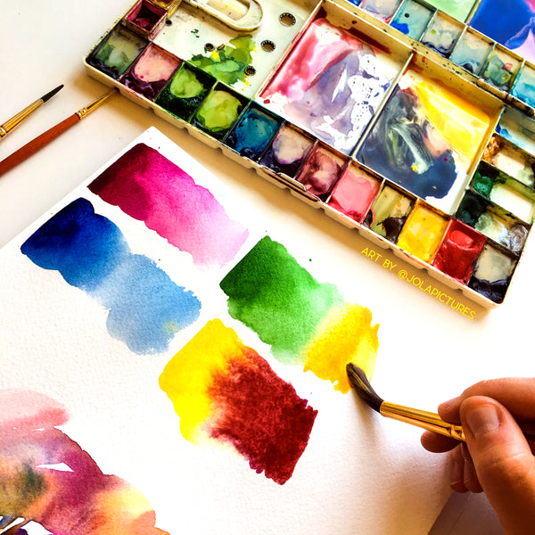 Introduction to Watercolour Painting - Zoom Workshop 23 Jan