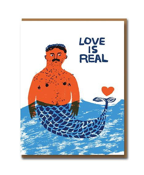 Love is Real - Valentine's/Love Card