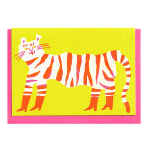 Tiger in Boots - Card