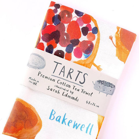 Tarts - Tea Towel