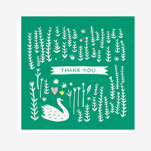 Thank You Swan - Card