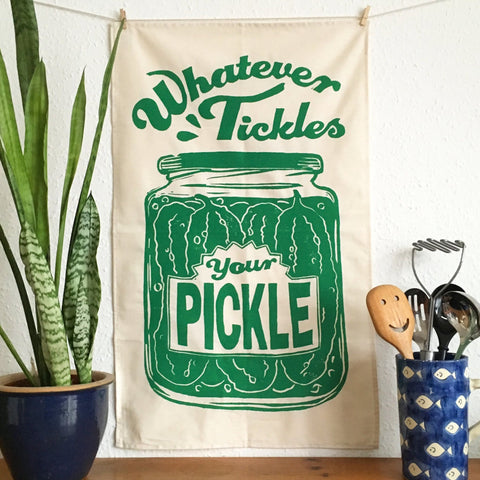 Pickle - Tea Towel