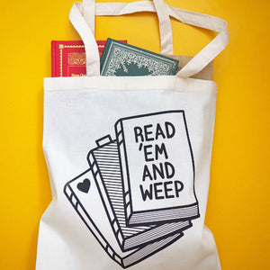 Read em and Weep - Tote Bag