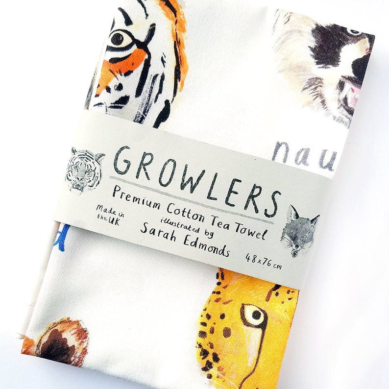 Growlers - Tea Towel