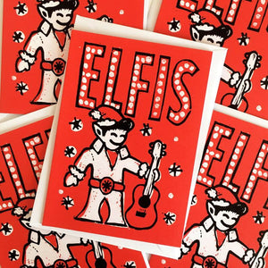 Elfis - Christmas Card