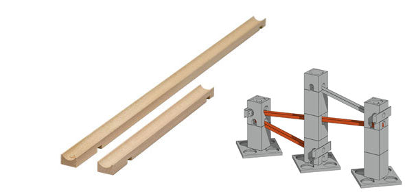 Xyloba roll track long (2 units)