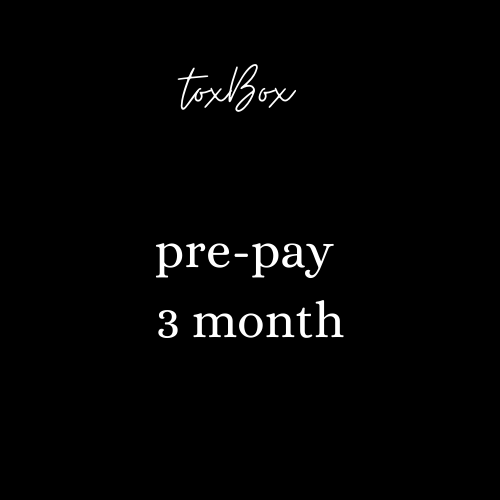 Pre-pay (3 month)