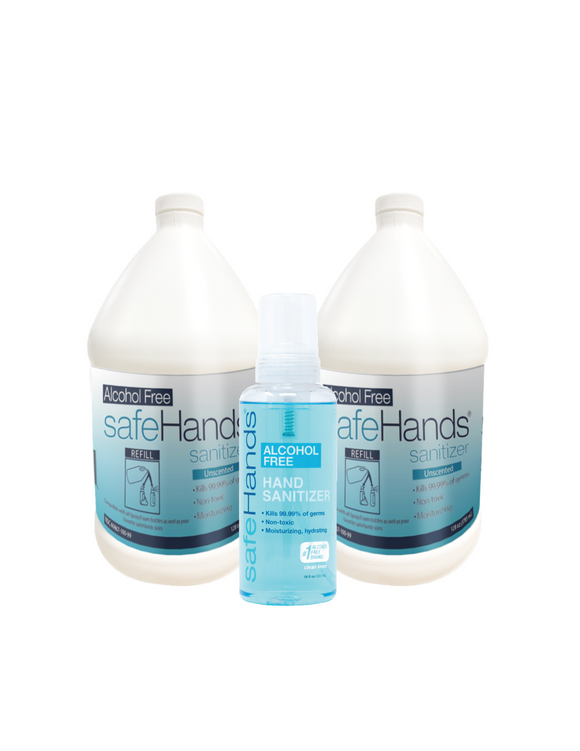 SafeHands 2 Gallons & A Free 18oz.