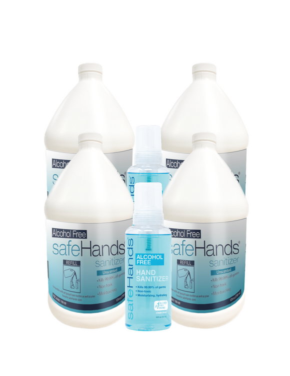 SafeHands 4 Gallons & 2 Free 18oz.