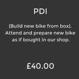 PDI (Build new bike)
