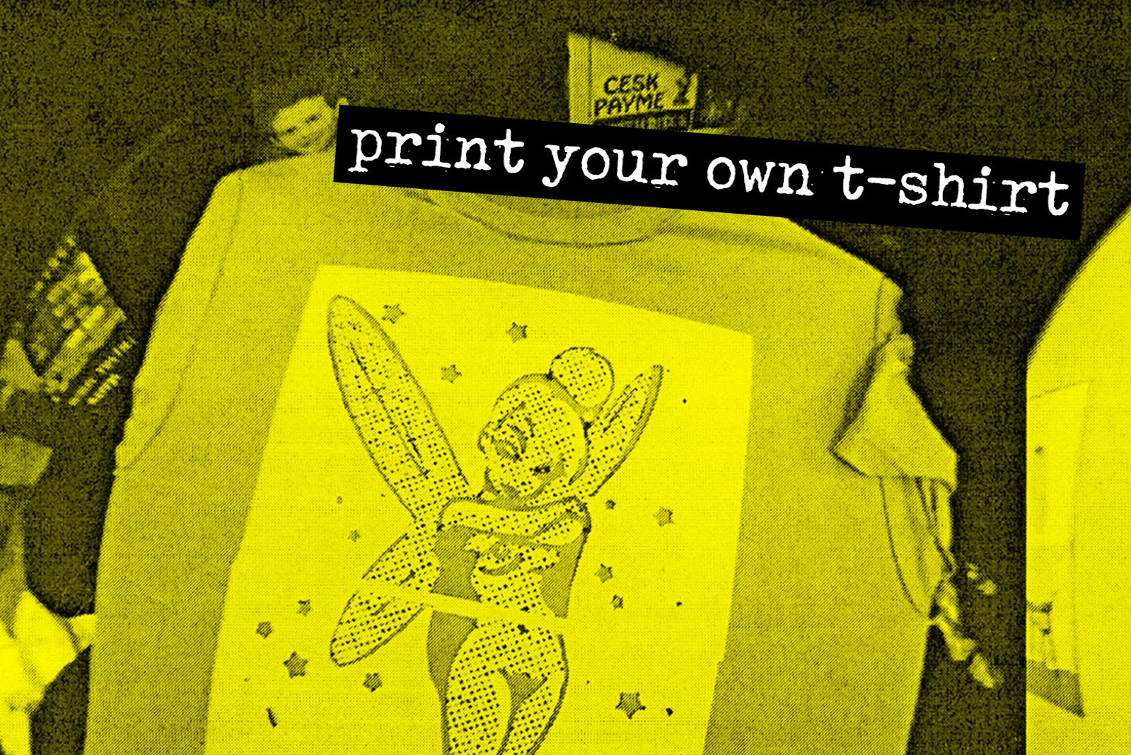 Print Your Own Tee - Life In DIYsolation