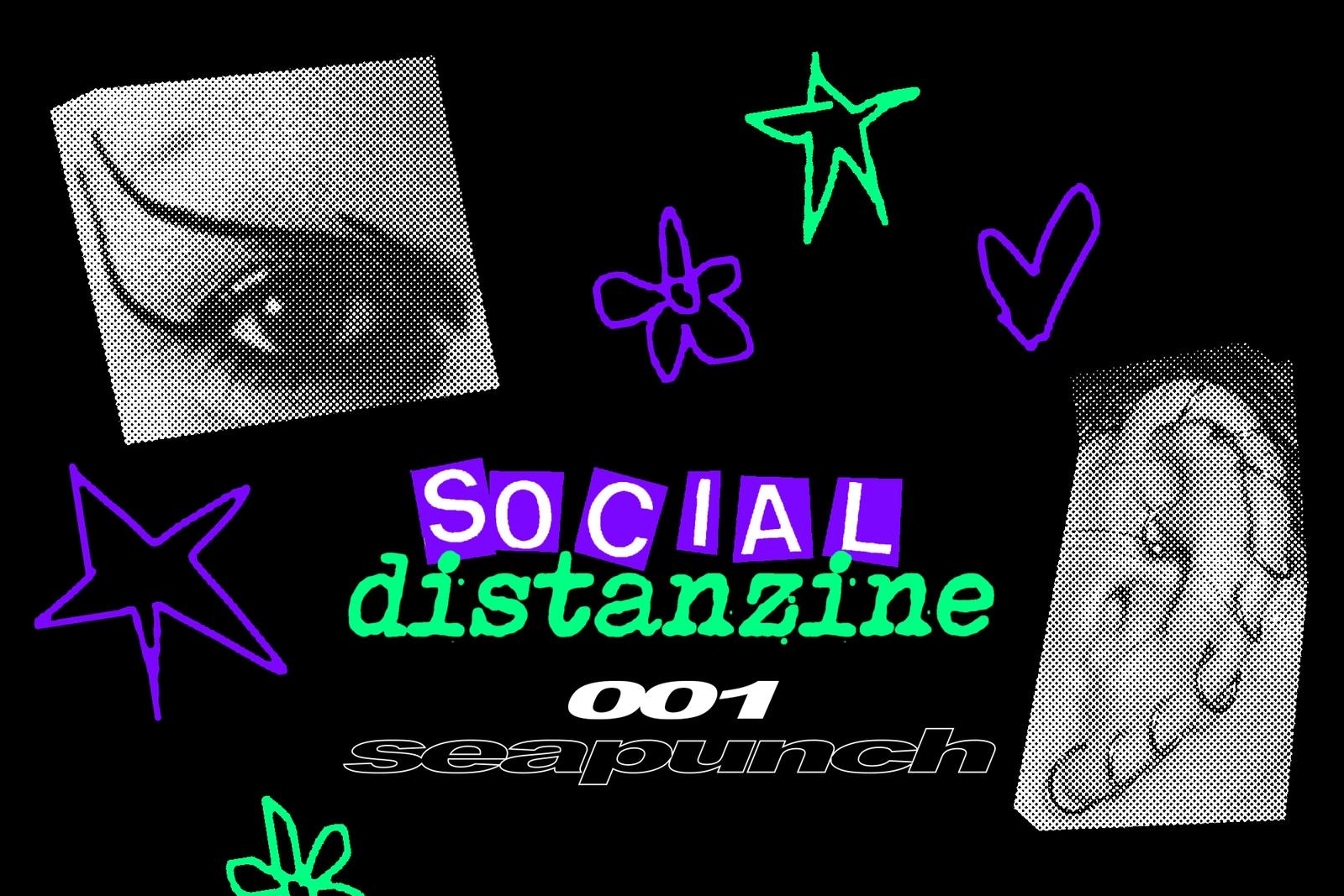 Social Distanzine 001 - Seapunch