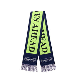 Better Days Ahead Scarf - Purple / Neon Green
