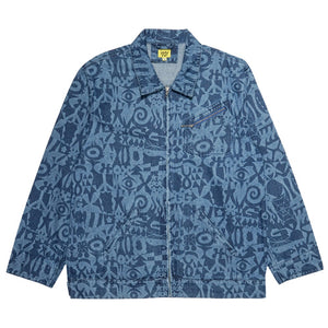 Icons Demin Jacket - Multi Blue