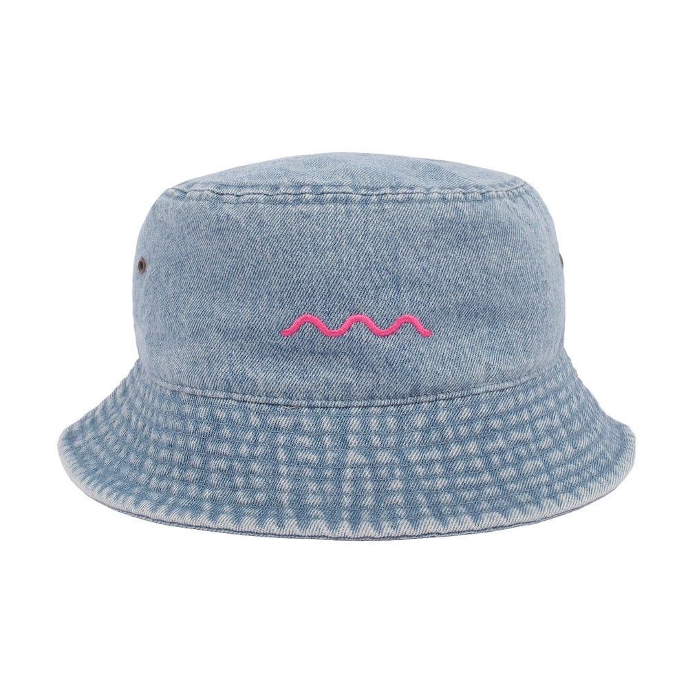 Chill Wave Bucket - Light Jean/Pink