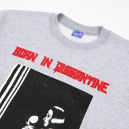 Born In Quarantine Crewneck - Heather Grey