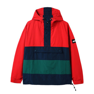 Santosuosso Jacket - Red/Navy/Green