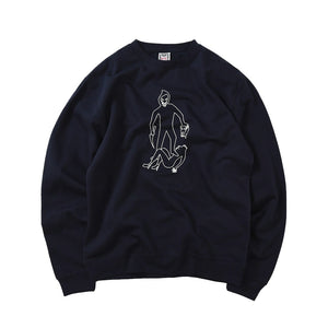 Killer Crewneck Sweatshirt - Navy
