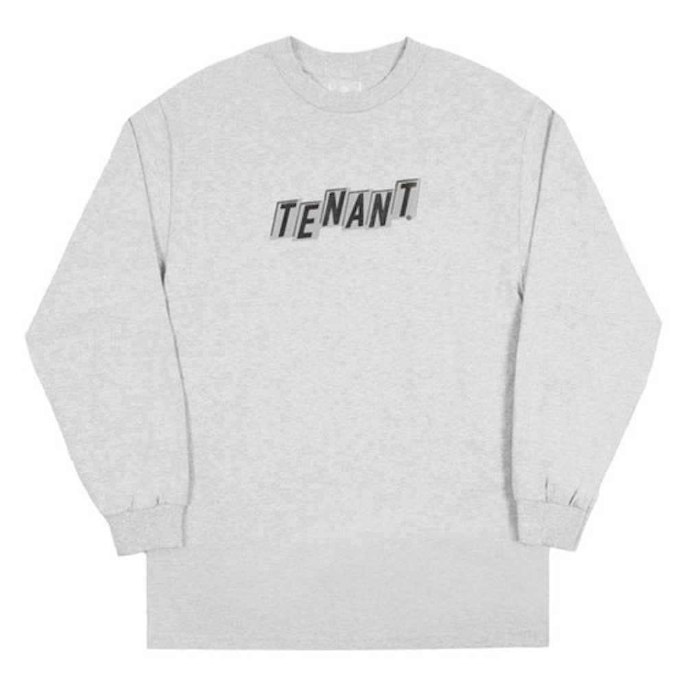 Tenant Logo L/S Tee - Athletic Grey