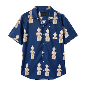 Sculpture Shirt - Navy