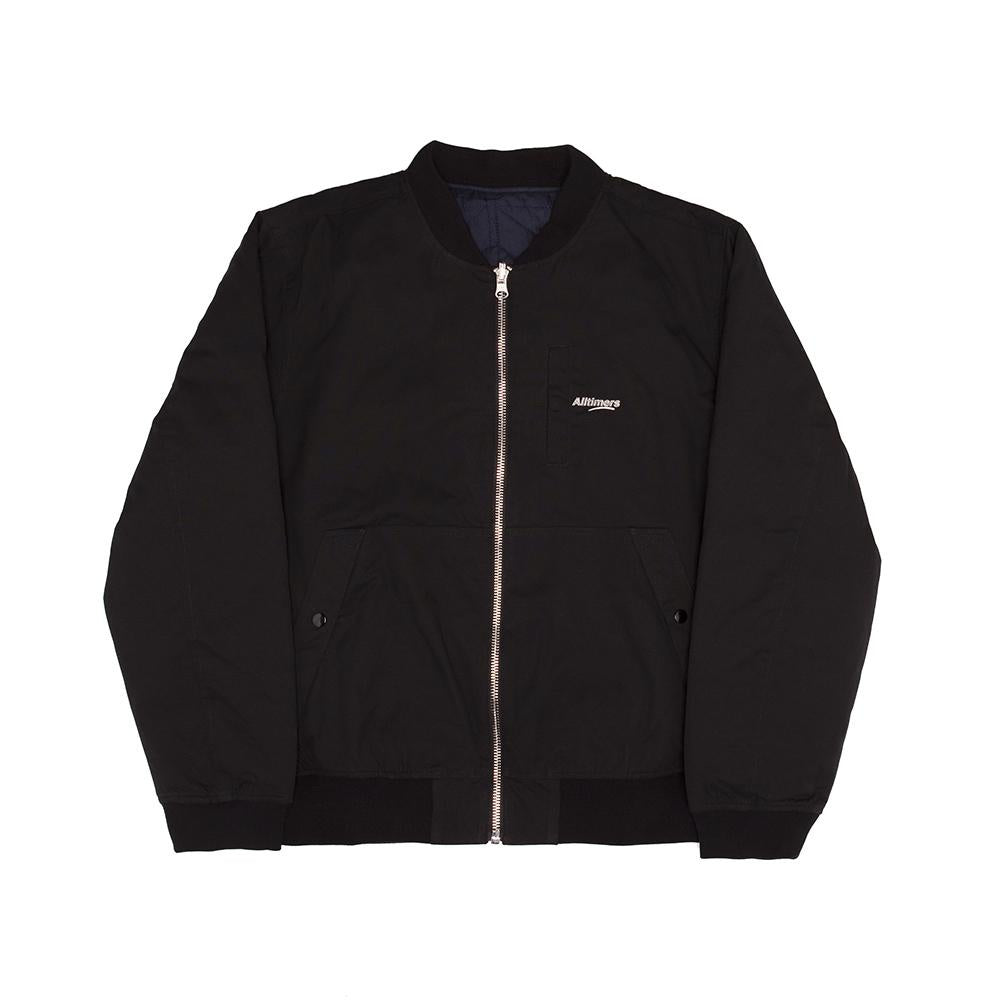 Reversible Tini Bomber - Black/Navy