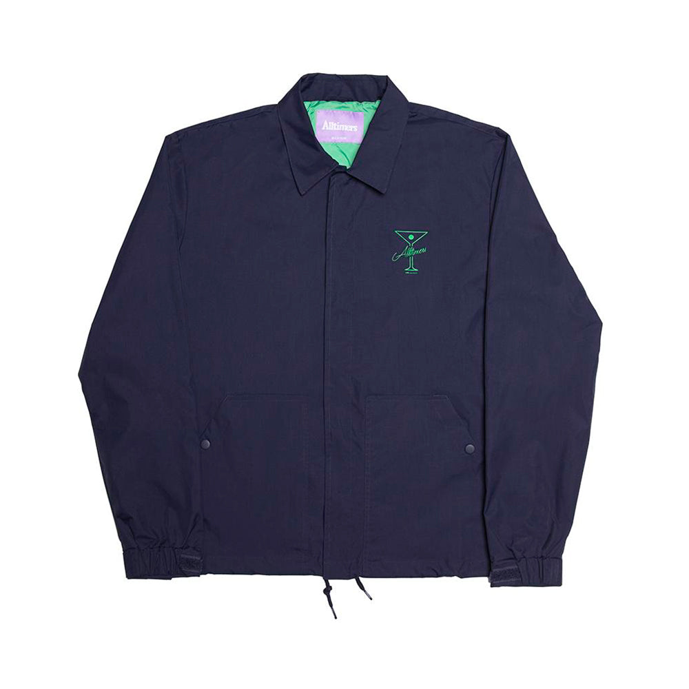 Finesse Coaches Jacket - Navy