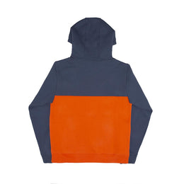 Struck Half Zip - Blue/Orange