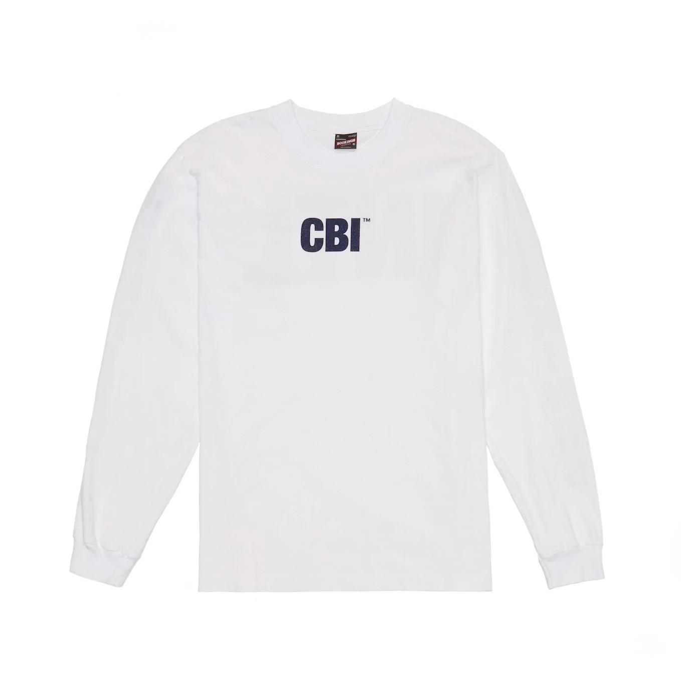 CBI Inmate Long Sleeve - White