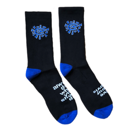 Sun Sock - Black / Blue