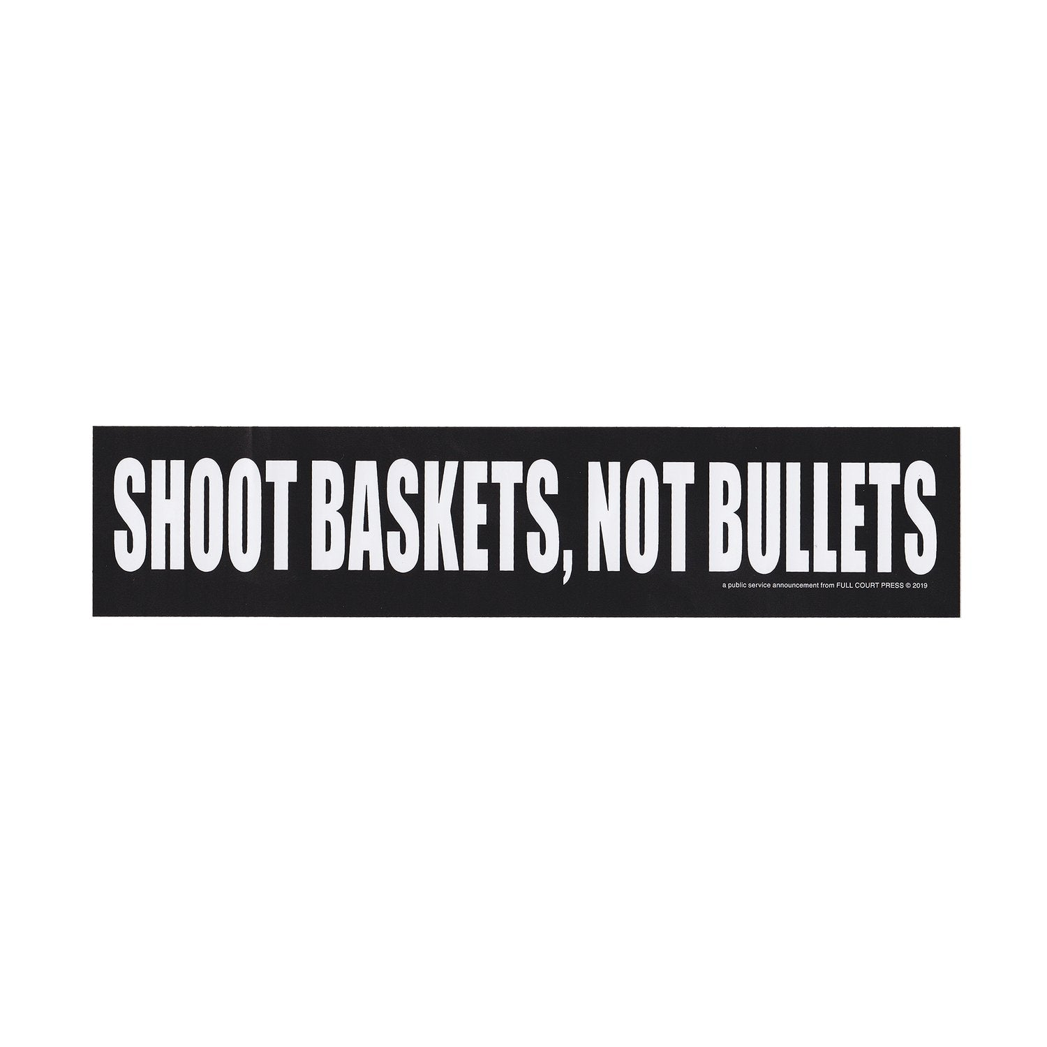 Shoot Sticker