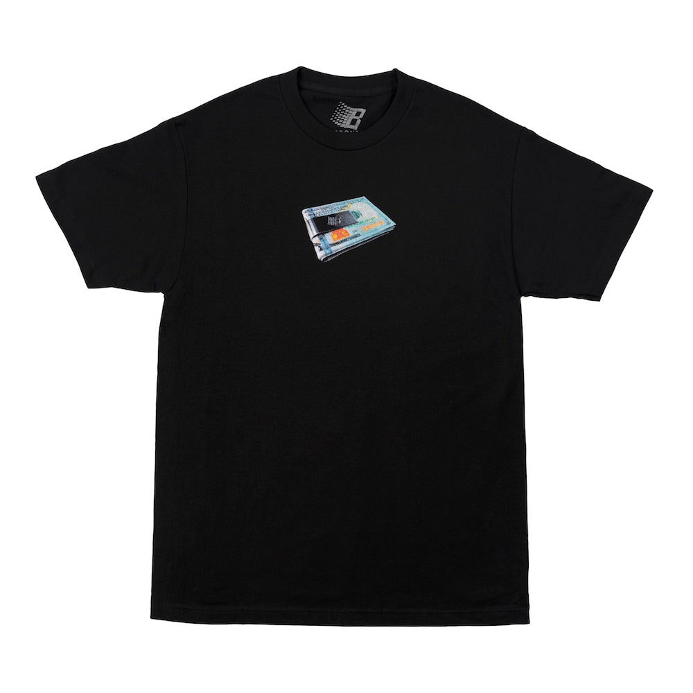Money Clip Tee - Black
