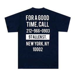 Good Time Tee - Navy / Cream