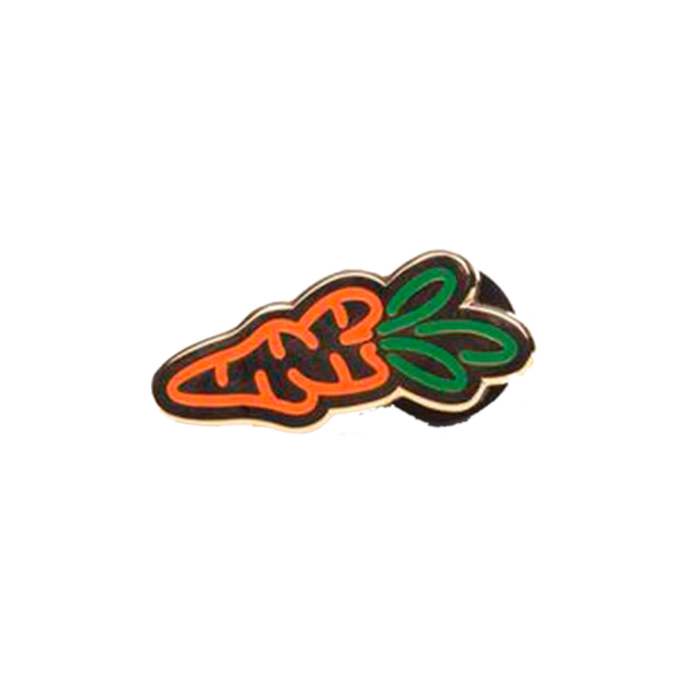 Carrot Logo Pins