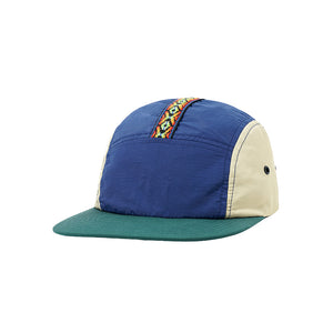 Trail Camp Cap - Navy/Khaki/Teal