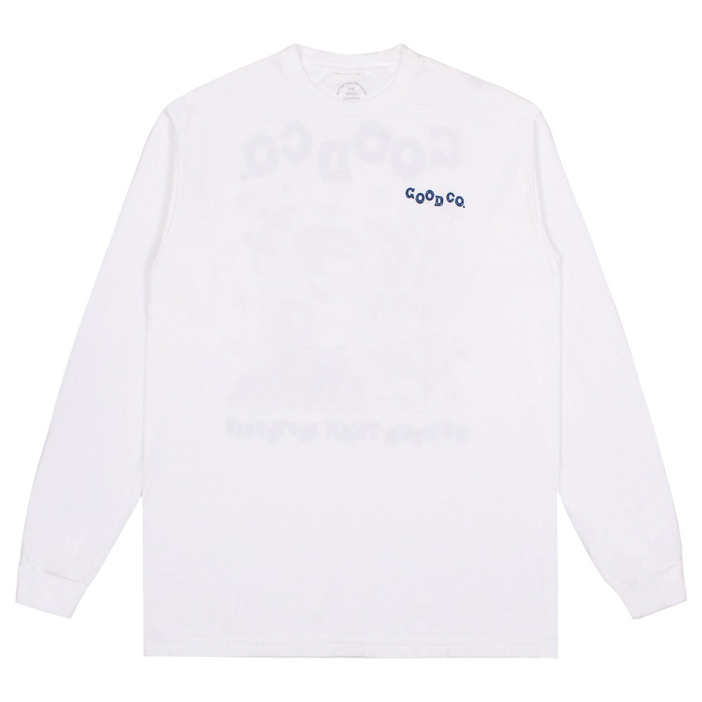 Growth Long Sleeve - White/Multicolour
