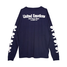 United Emotions Long Sleeve Tee - Navy